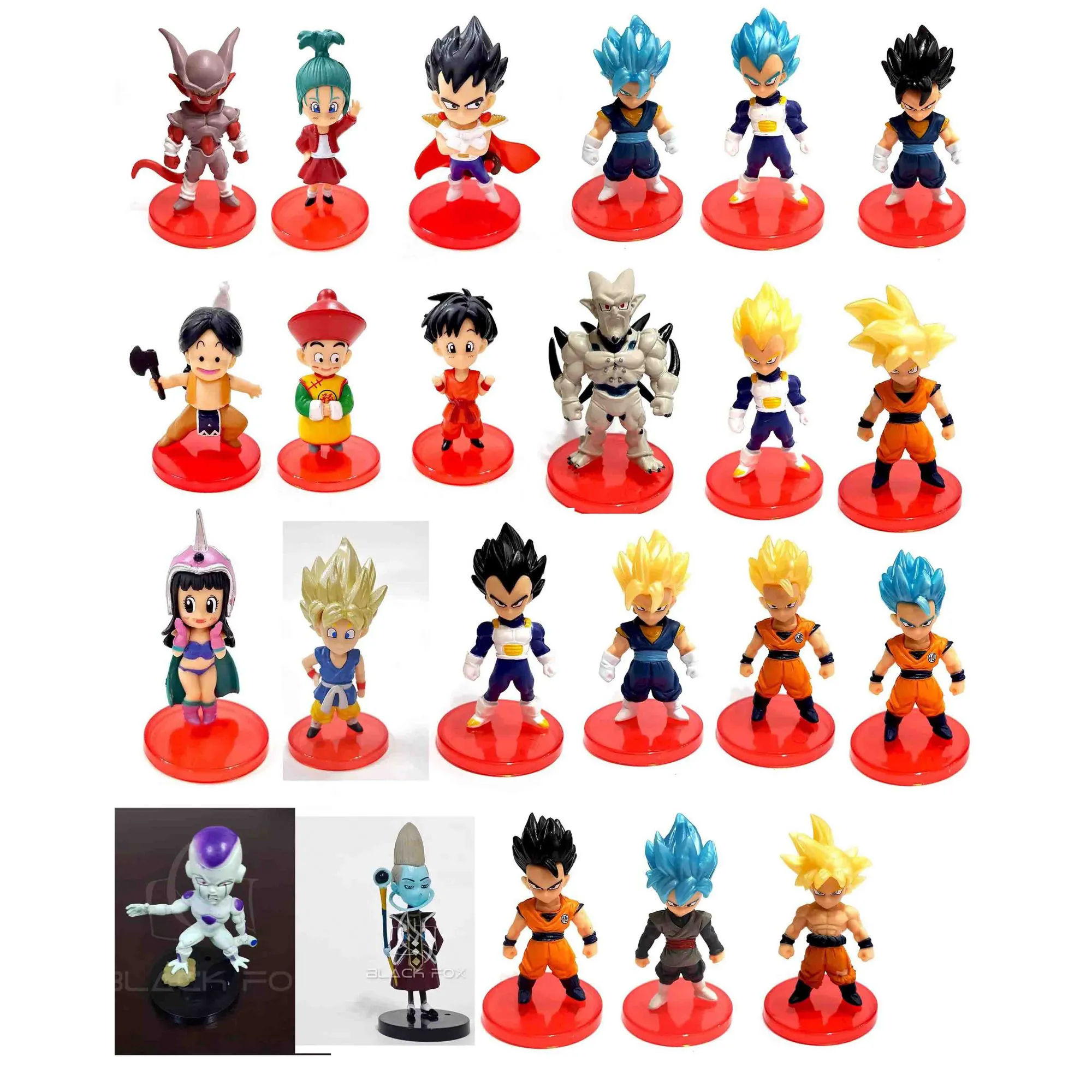 Goku Mini Dragon Ball Wfc Miniatura Q Banpresto