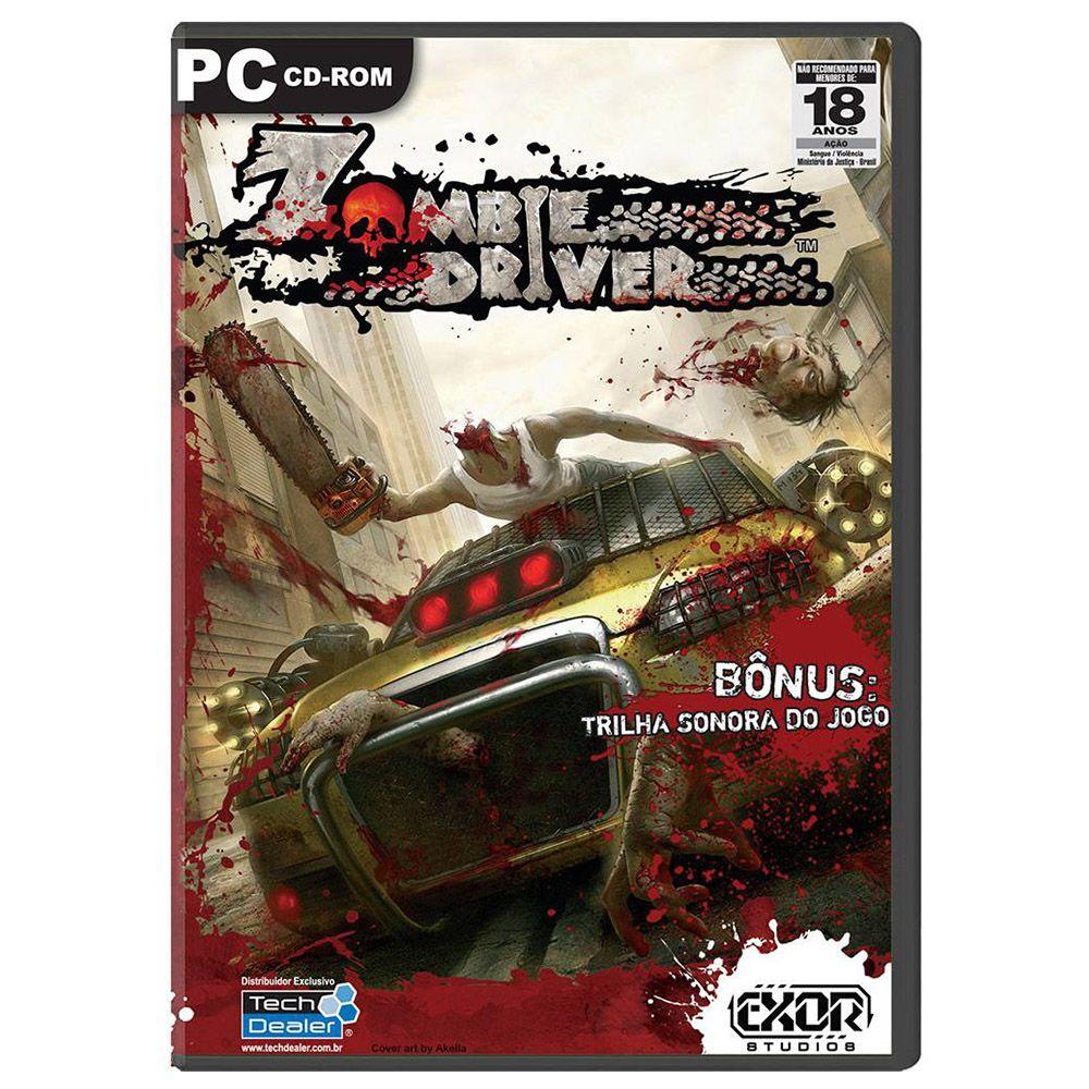 Jogo Pc Zombie Driver Mídia Física