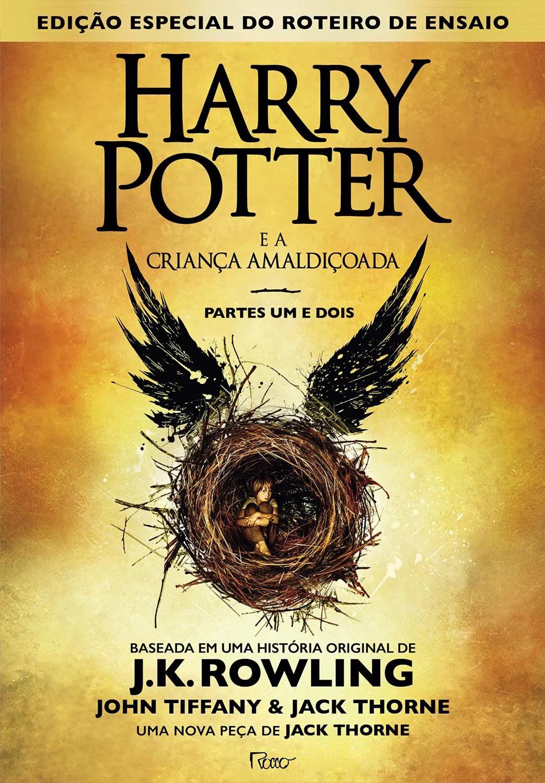 Livro - Harry Potter E A Criança Amaldiçoada Parte Um E Dois