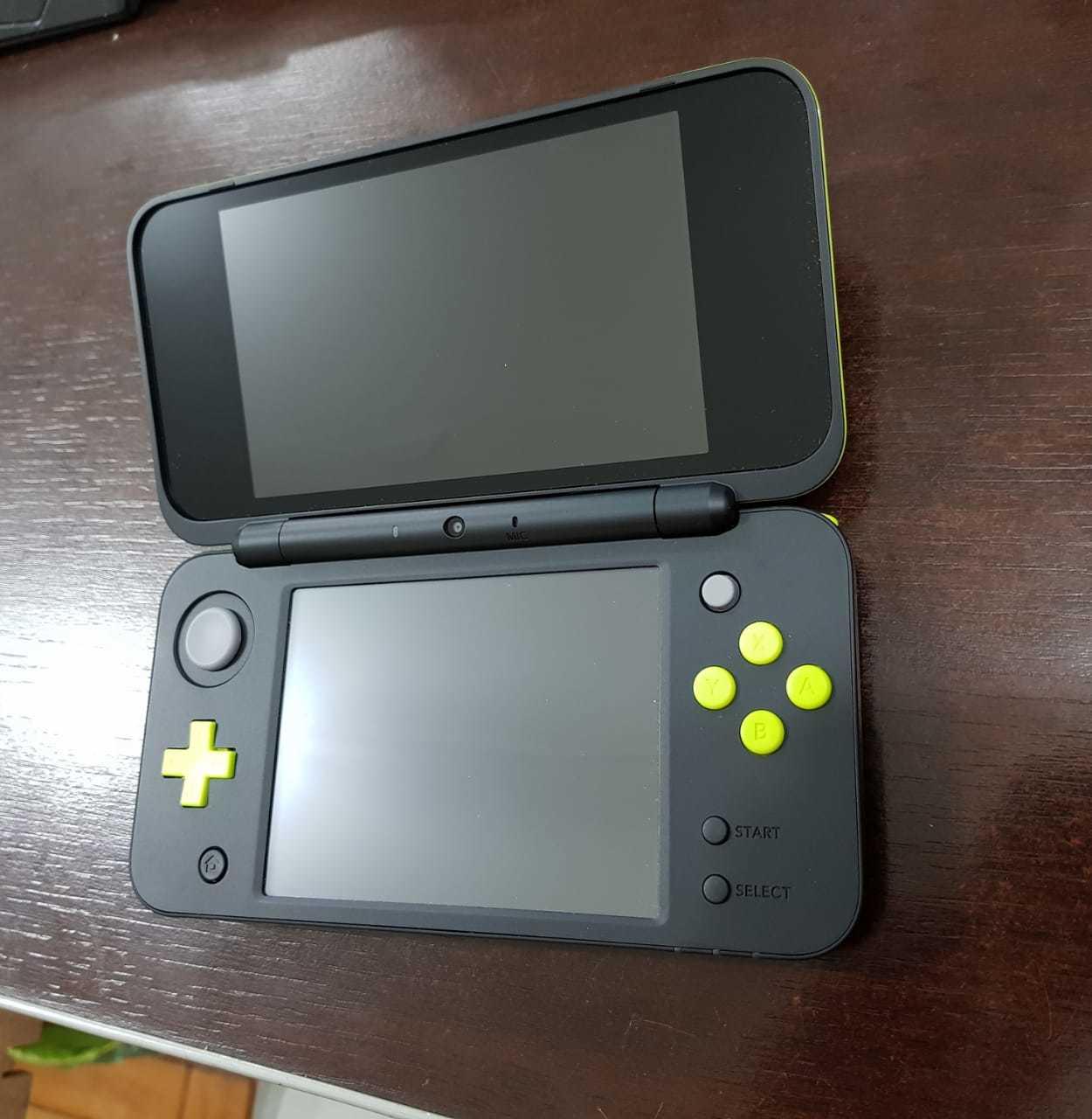 New Nintendo 2ds Ll Xl Novo Verde Limão Pronta Entrega