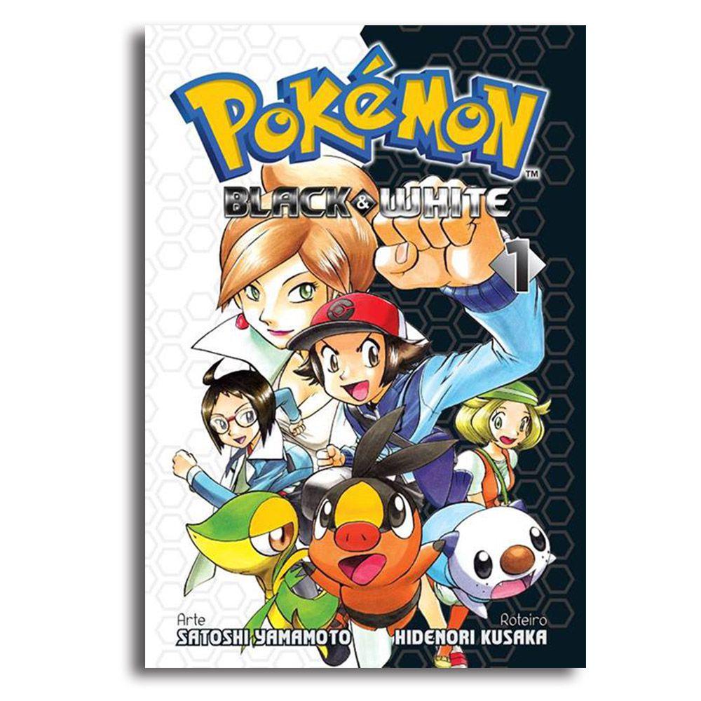 Panini Pokemon Black White Vol 1 Mangá