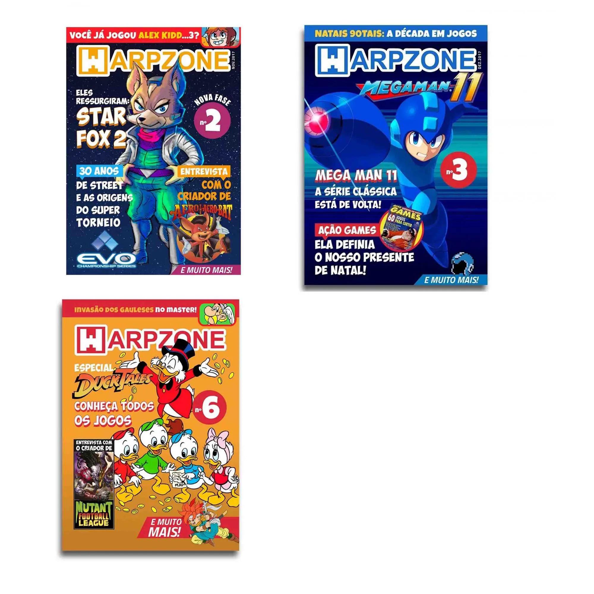 Revista Warpzone Games Nerd