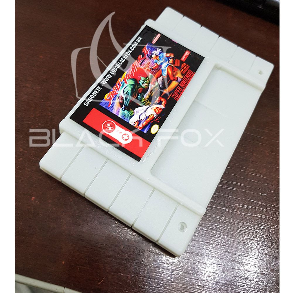 Sabonete Artesanal Limão Fita Snes Super Nintendo Video Game