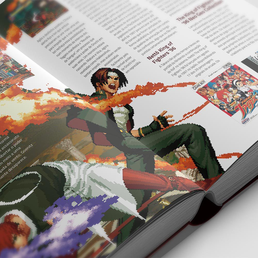 The King Of Fighters Essencial Livro KOF Warpzone