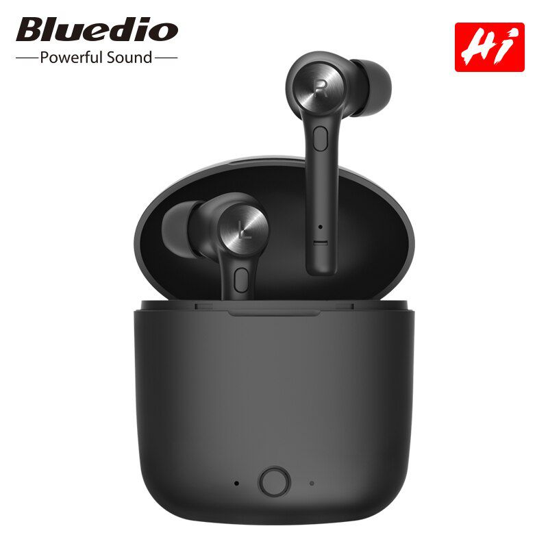 Fone de Ouvido Bluedio Hi Bluetooth 5.0 Sem Fio TWS