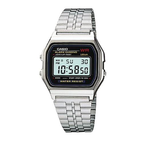 f2cfb1cb4e0 RELÓGIO CASIO VINTAGE A159WA-N1 - Digi Quartz - venda de relógios ...