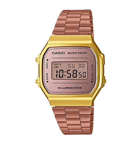 a28fd84df9e RELÓGIO CASIO VINTAGE A168WECM-5 - Digi Quartz - venda de relógios ...