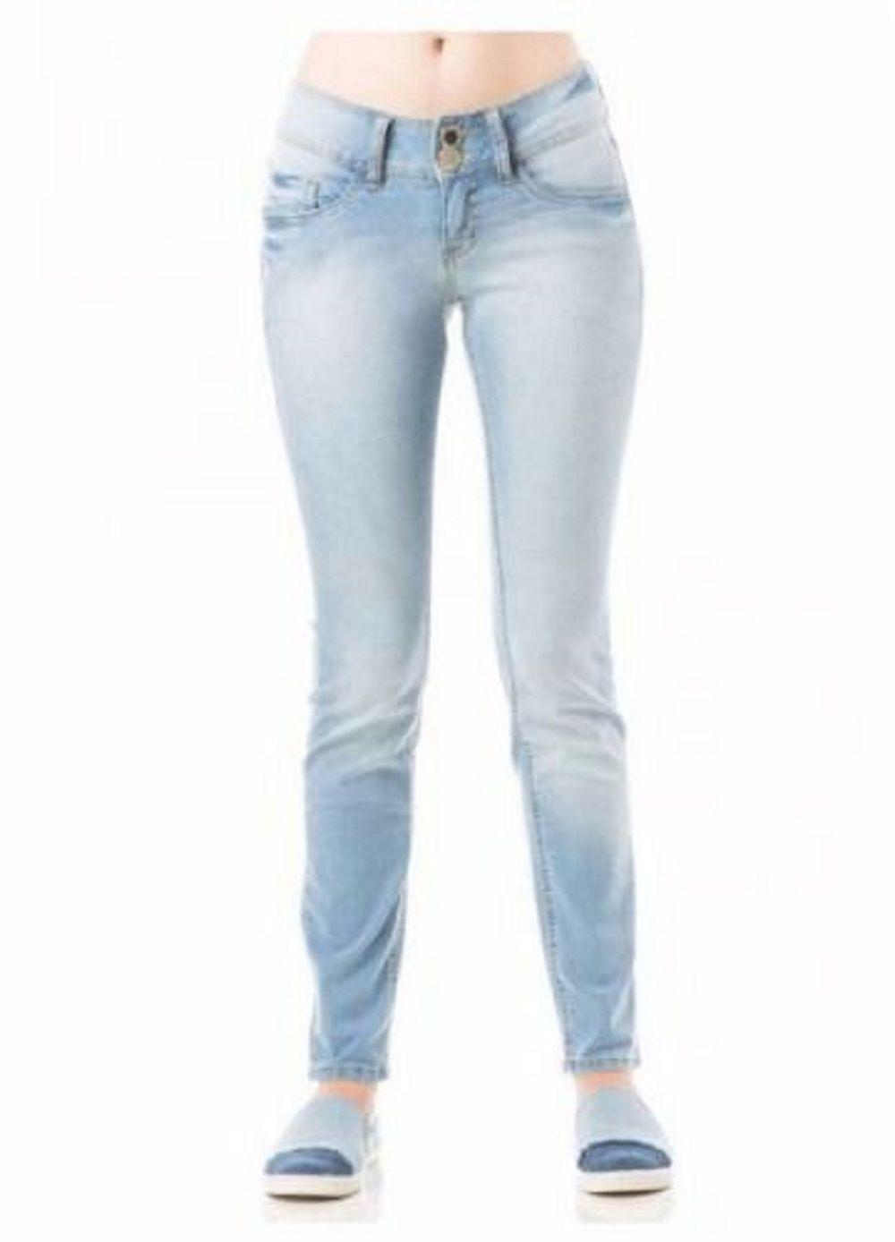 99cb64f67 Calça Feminina Jeans Eventual Cigarrete Skinny Evt - Tequila Store