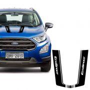 Adesivo Do Capô Ford Ecosport 2018/2020 Preto Fosco Tuning