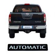 Adesivo Emblema Automatic Nissan Frontier Modelo Original