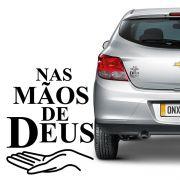 Adesivo Nas Mãos De Deus Decorativo Para Carro Notebook