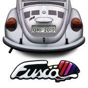 Adesivo Traseiro Fusca Itamar Emblema Resinado Volkswagen
