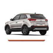 Friso Do Porta malas Hyundai Creta 2017 Vermelho Refletivo