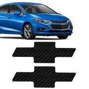 Gravata Adesiva Cruze Sedan e Hatch 2017 Fibra de Carbono