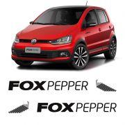 Kit Faixa Lateral Fox Pepper 2015 Adesivo Modelo Original