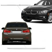 Kit Frisos Do Para-Choque Bmw 320 328 2014/2015 Cromado