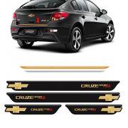 Kit Soleira Black Over + Friso Cruze 12/16 Sport6 Turbo Gold