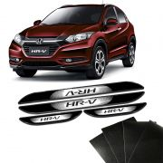 Kit Soleira Da Porta Hr-v 2015 a 2019 Com Black Over