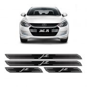 Kit Soleira De Porta Diamante Jac Motors J5 Resinado