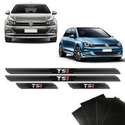 Kit Soleira Diamante Golf Polo Tsi 2018 E Protetor De Porta