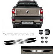 Kit Strada Trekking Prata + Emblemas + Soleira da Porta