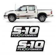 Par de Adesivos S10 Rodeio Flex Power Verde (Porta) - Origynal ... aa6aff760ae