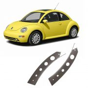 Puxador De Porta New Beetle Em Inox Tuning Polido Tuning