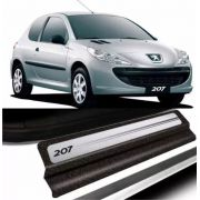 Soleira da Porta Peugeot 207 Resinada c/ Black Over