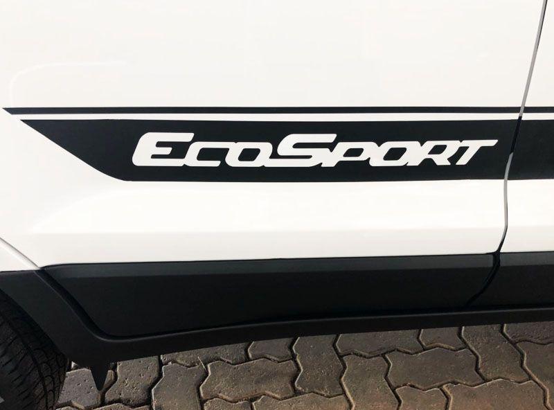 Acessório Faixa Lateral Ecosport Adesivo Decorativo Preto