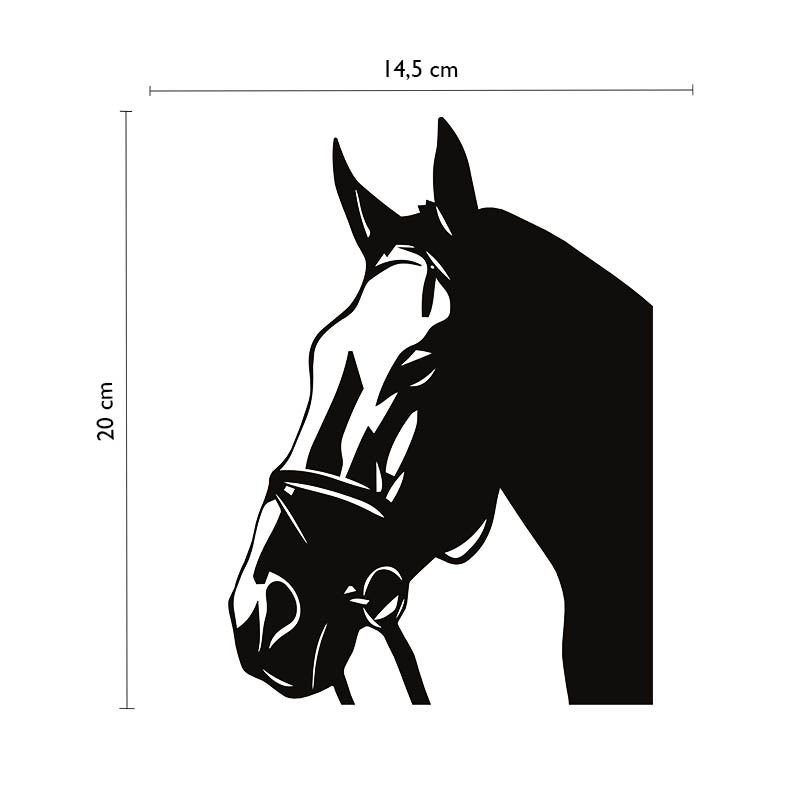 Adesivo Cavalo Hipismo Cowboy Carro Caminhonete Decorativo