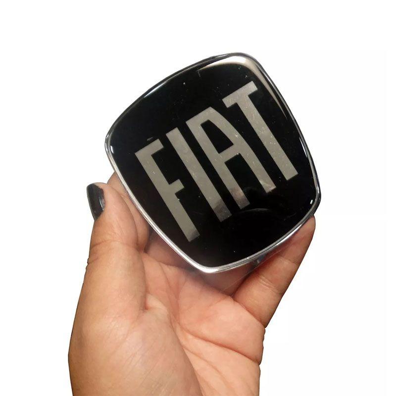 Adesivo Da Grade Dianteira Argo Fiat Black Piano Resinado