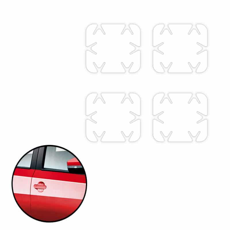 Adesivo Protetor De Maçaneta Carros Universal Transparente