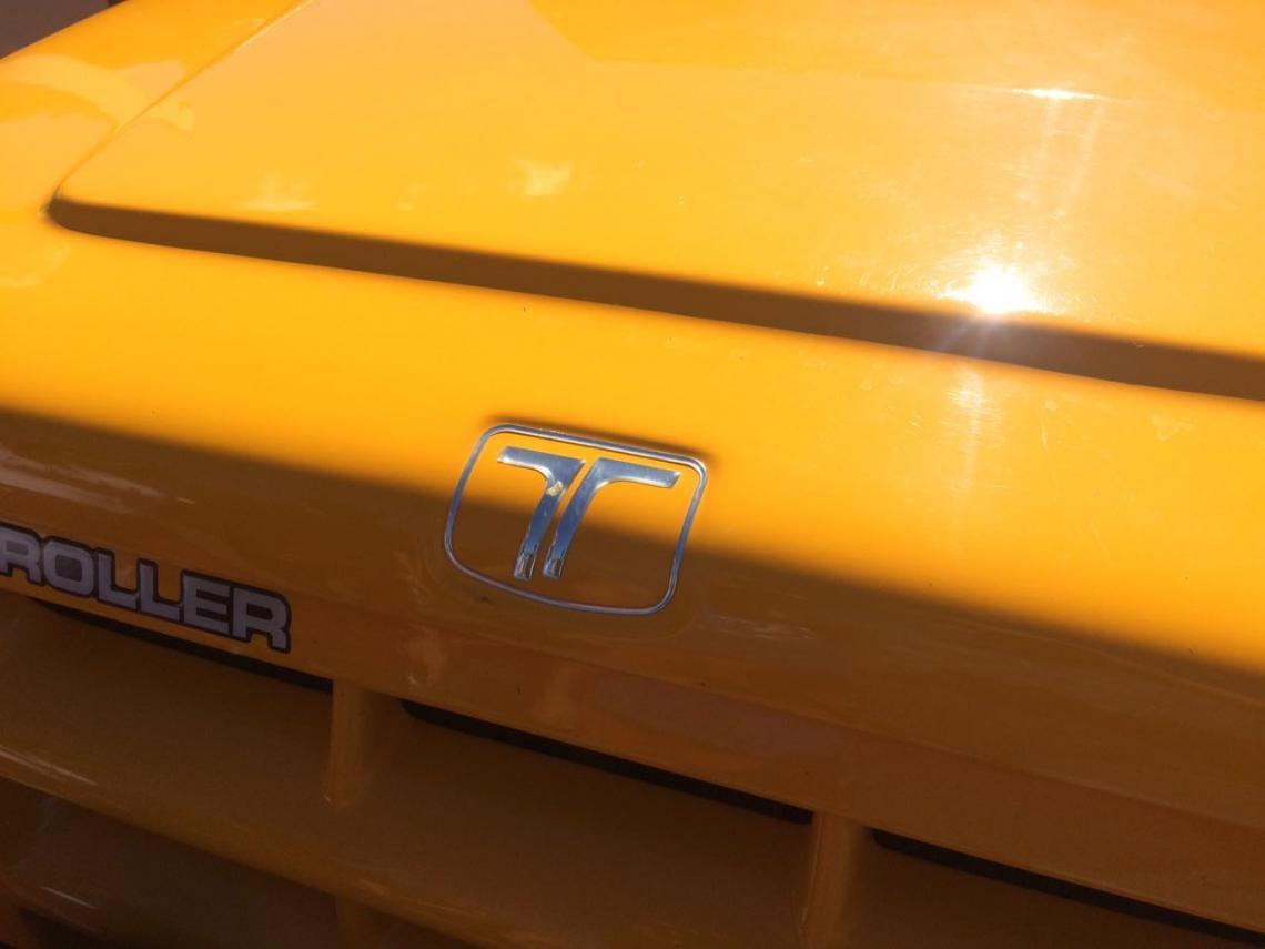Emblema Logo Troller 2005 Adesivo Cromado Resinado