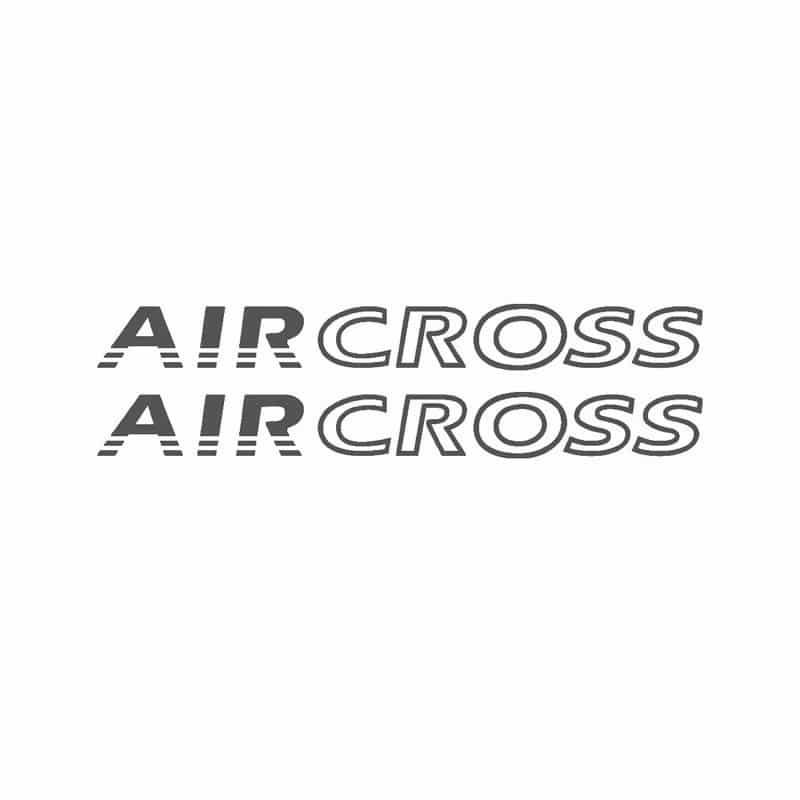 Faixa Lateral Air Cross Até 2015 Adesivo Grafite Aircross