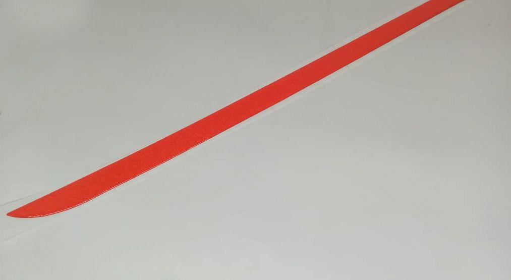 Friso Do Porta malas Celta 2006 à 2014  Vermelho Refletivo