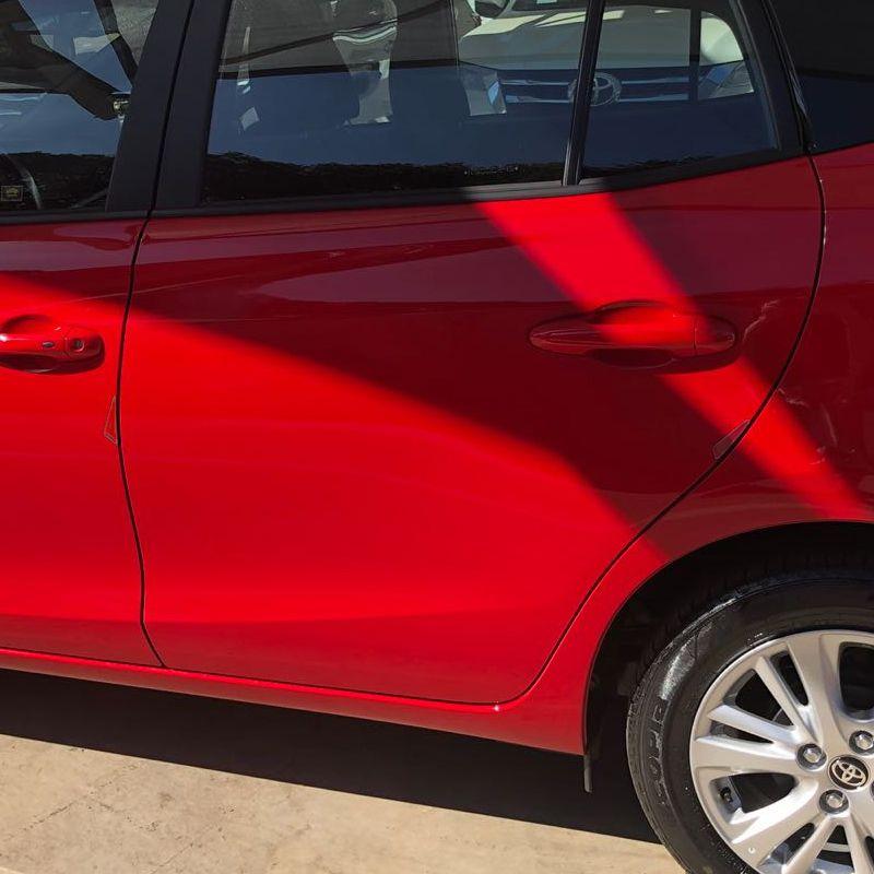 Kit Acessórios Yaris Hatch 18/19  Adesivo Protetor Resinado