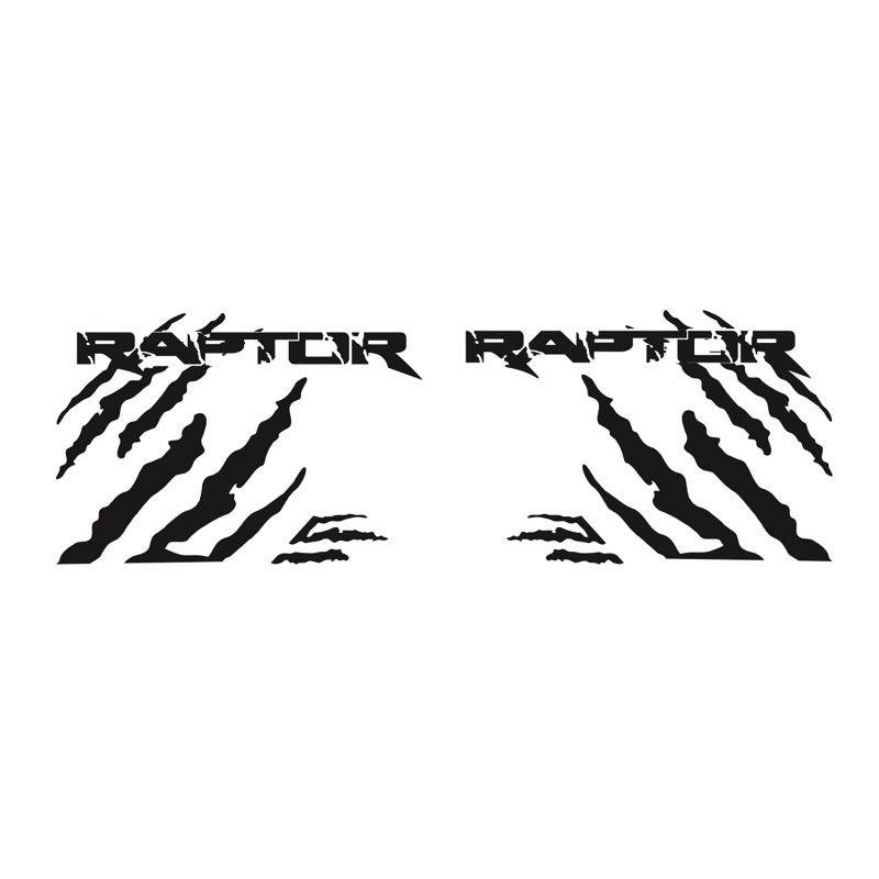 Kit Adesivo Ford Ranger Raptor Faixa Lateral Preta Tuning
