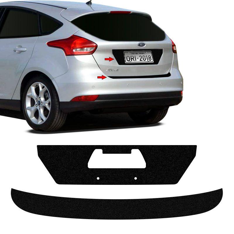 Kit Protetor Do Porta-Malas Focus Hatch 18 + Fundo De Placa