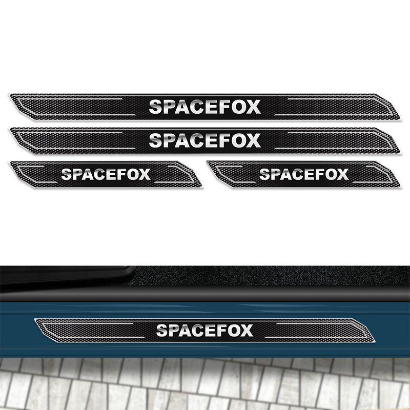 Kit Soleira Da Porta Diamante Spacefox 2007/2018 Resinada