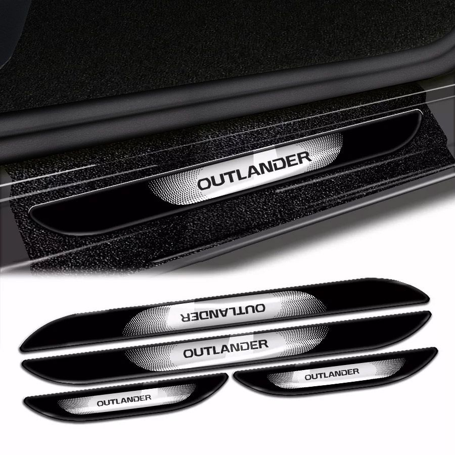 Kit Soleira Da Porta Outlander 2007 A 2019 Com Black Over Resinado
