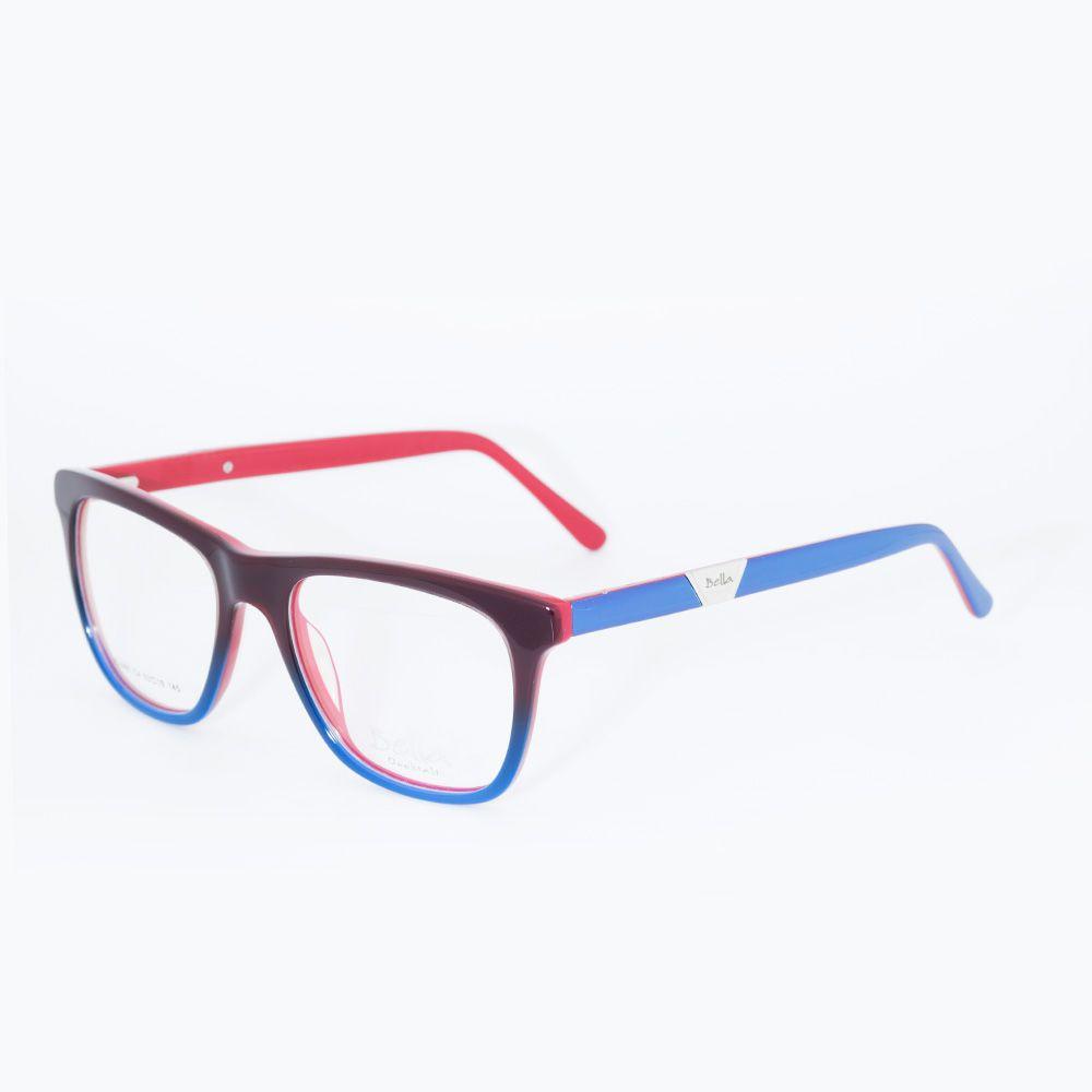 9dcbef2185b30 Óculos de Grau Bella Colorido JC 1665 - Óticas de Sá
