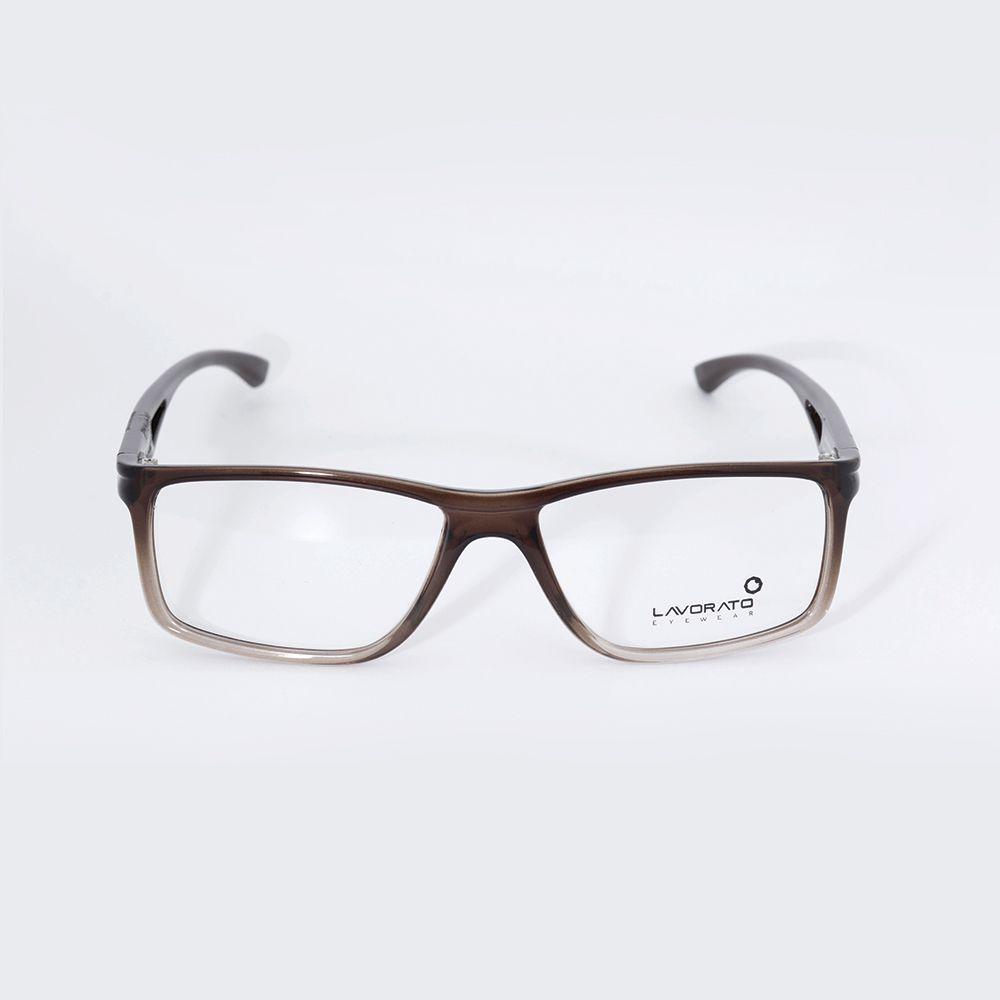 6d91f141f Óculos De Grau Lavorato Marrom Degrade LL092 - Óticas de Sá