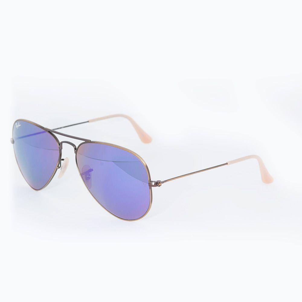 b27cf65d58231 ... Óculos De Sol Ray Ban Óculos RB 3025 Espelhado Roxo