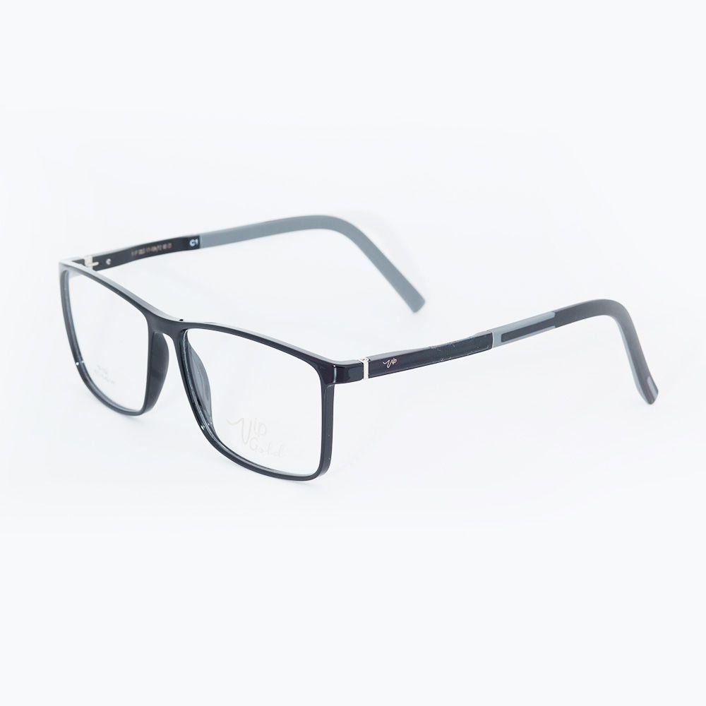 35301b269 Óculos de Grau Vip Preto Fosco 17-105 - Óticas de Sá
