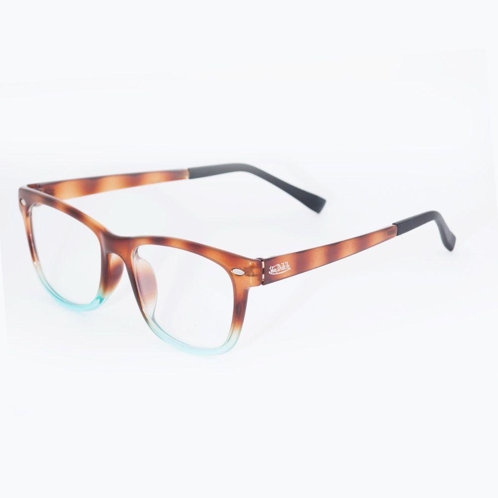 3ce8dd1fbec12 Óculos de Grau Von Dutch Tartaruga Degrade 61500 - Óticas de Sá