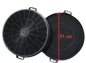 02 Filtro De Carvão Para Coifa 21cm Diâmetro  - HL SERVICE