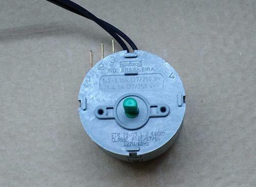 Timer Chave Secadora De Roupas Fischer Amiga 5561
