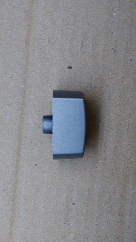 Botão Cooktop Diversas Marcas - Horizontal Prata- 05 Un