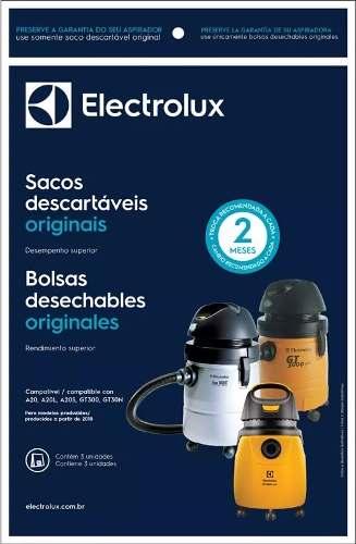 Saco Aspirador Eletrolux A20 A20l A20s Gt300 Original C/ 3u