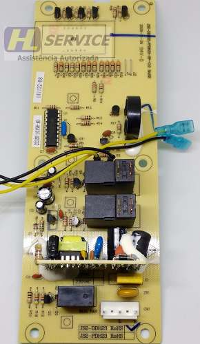 Placa P/ Microondas Fischer 220v + 3 Micro Interruptores